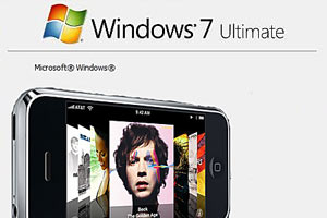 Вольный фотоколлаж. Windows 7 — Apple iPhone