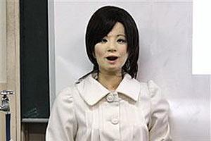 Андроид Сая провела первый урок в японской школе