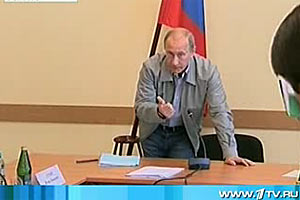 Народный заступник — совещание Путина в Пикалево