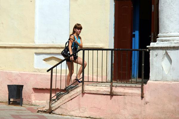 Девушка города Ельца