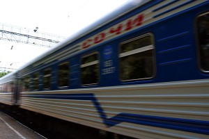 Прекрасный поезд «Санкт-Петербург — Адлер»
