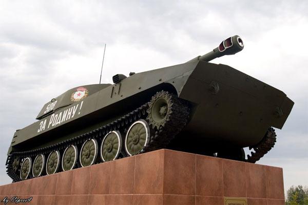 Монумент героям Великой Отечественной. Малоархангельск. 2008 год.