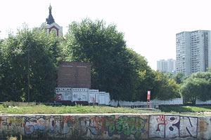 Борисовские пруды. Москва.