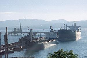 Нефтеналивная база в Новороссийске