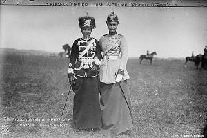 Принцесса Виктория-Луиза и принцесса Цецилия
