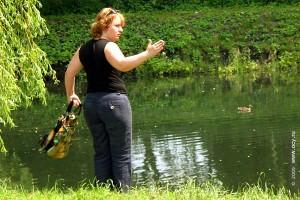 Размер рыб имения Овстуг