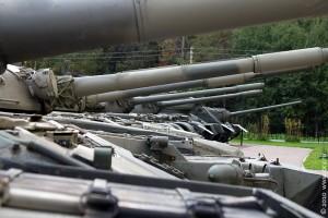 Стволы танковых орудий