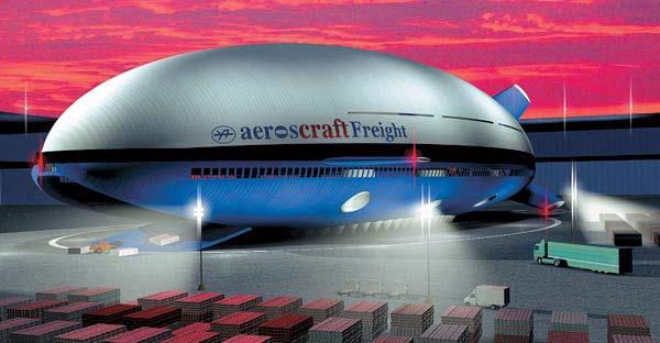 Гибридные дирижабли Aeroscraft