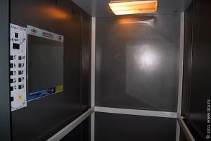Лифт изнутри.