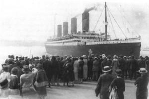 Британский трансатлантический лайнер «Олимпик».