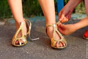 Взрослые туфельки.