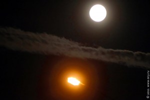 Луна с фонарём по фен-шую.
