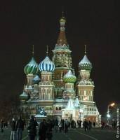 Собор Василия Блаженного на Красной площади. Москва. 2011 год.