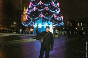 Поздравляю всех с наступающим Новым 2012 годом! Москва. 2011 год.