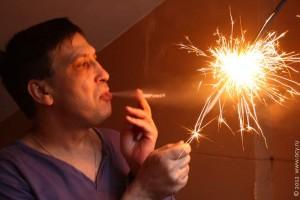 Зажги свой пожар мировой революции.