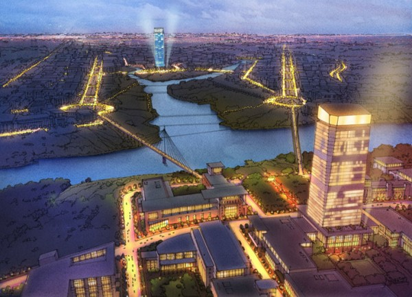План строительства Нью-Москвы до 2020 года.