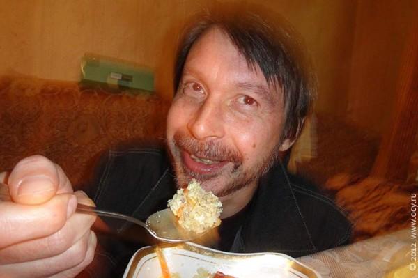 Фаршированные перцы под водку. Москва. 2012 год.