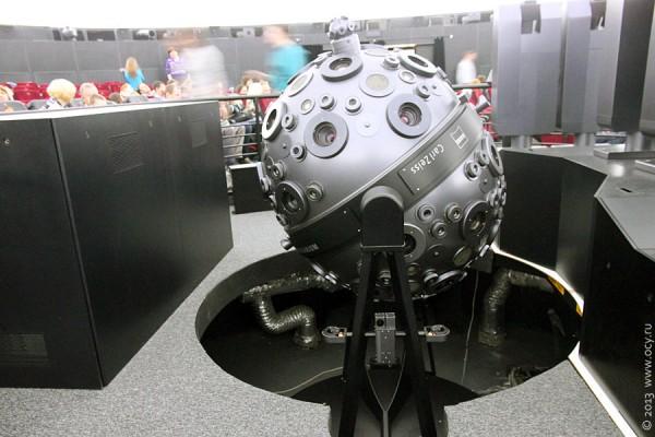 Большой планетарий Москвы: аппарат для показа звёздного неба