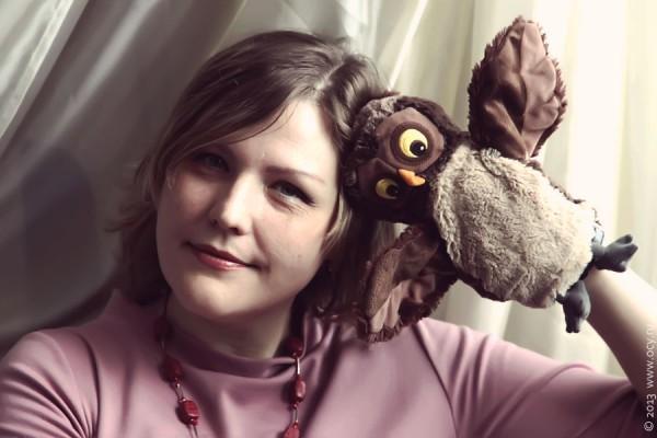 Таня и сова.