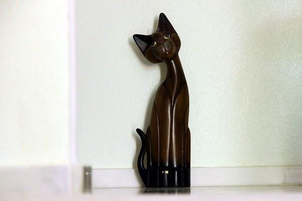 Деревянный испанский кот.