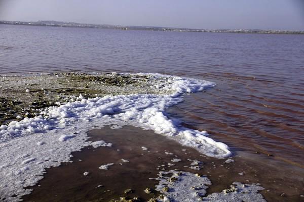Солёное озеро в Торревьехе.