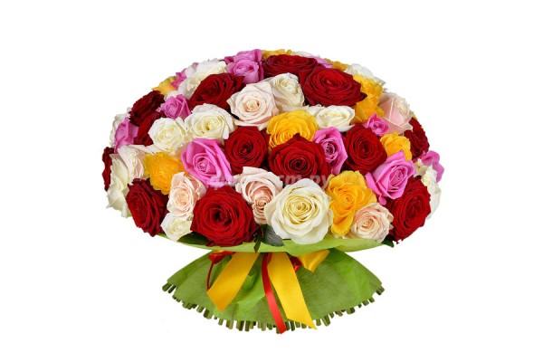 Разноцветная Роза.