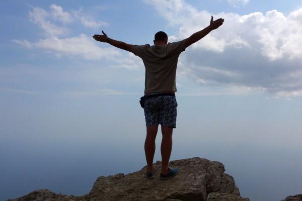 На вершине Ай-Петри.