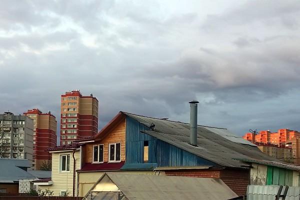 Крыши.