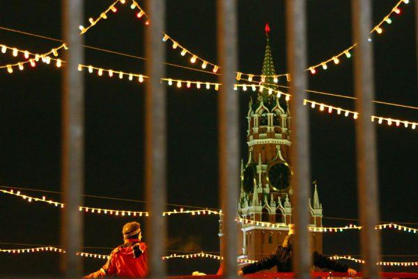 Кремль за решёткой.