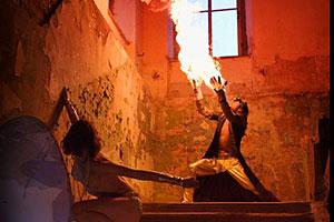 Fire-show — зрелище не для слабонервных