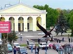 Орел: памятник на Привокзальной площади г. Орла
