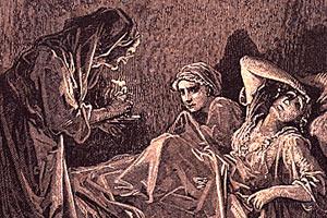 Госпожа и две служанки, И. А. Крылов