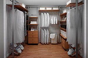 Шкафы-купе позволяют структурировать дизайн интерьера и повышают эргономичность помещения