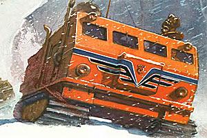 Снежные корабли — журнал Техника молодежи, март 1959 года