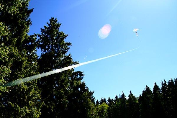 Запуск воздушного змея 31 мая 2009 года