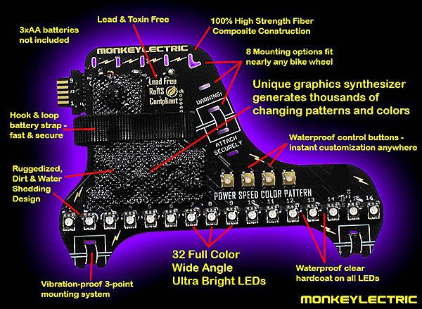Схема генератора световых эффектов — www.monkeylectric.com
