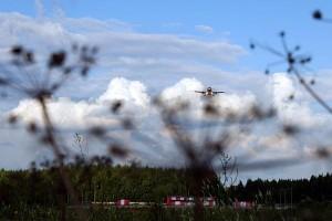 Самолеты садятся в Шереметьево