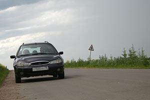 Остановка в пути. Орловская область. 2006 год.