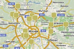 Карта новостроек