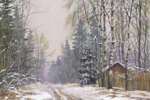 Зимняя дача. Андрей Дубровин