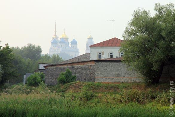 Болхов Орловской области. Берег реки Нугрь.