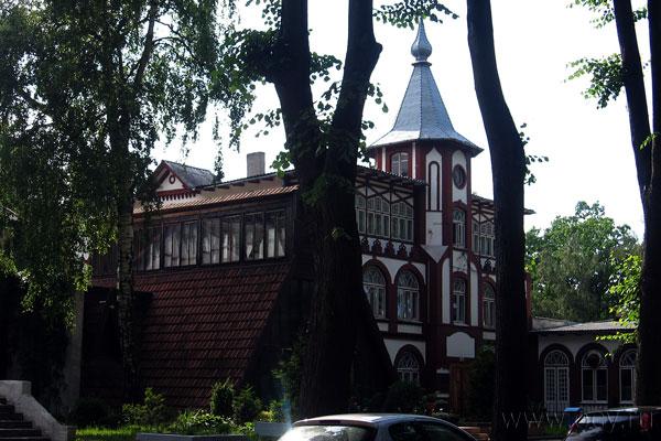 В этой части Светлогорска много построек, оставшихся от старого времени