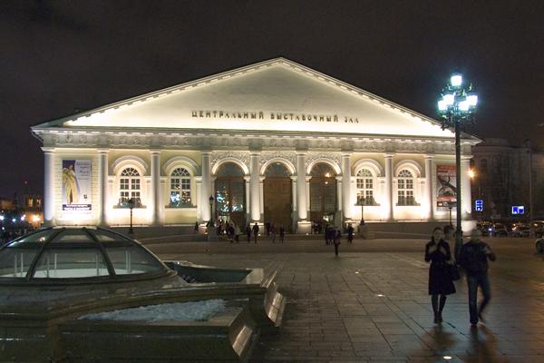 Манеж был построен для проведения конных военных парадов к пятилетию победы над Наполеоном в 1817 году