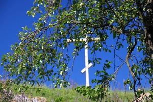 Крест на Верхососенском святом источнике