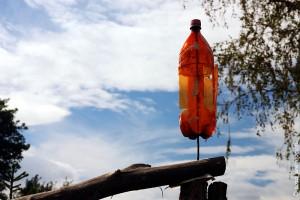 Вертушка из пластиковой бутылки