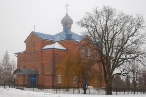 Покровский храм в Клейменове (усыпальница Фета)