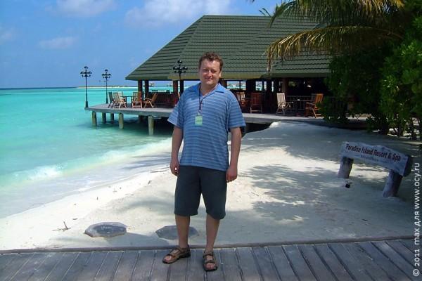 Мальдивское бунгало с блекджеком и пивом.