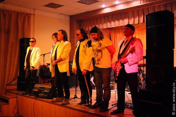 Концерт группы «Цветы» в Лобне 25 февраля 2011 года.
