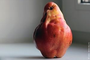 Strange piece of fruit — странный фрукт.