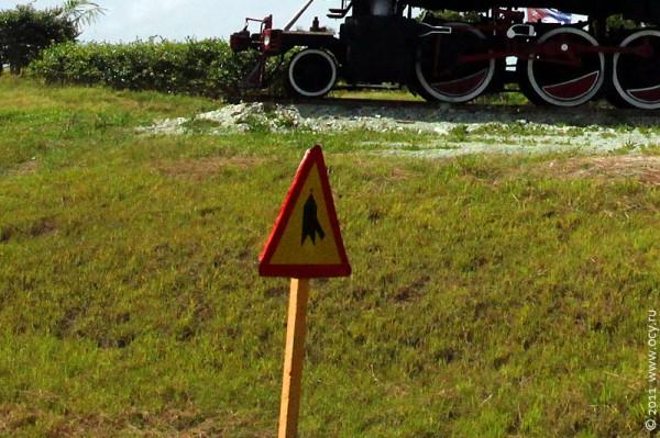 Знак примыкания дороги.